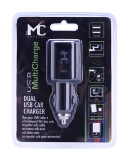 USB CAR CHARGER DOUBLE USB PORT
