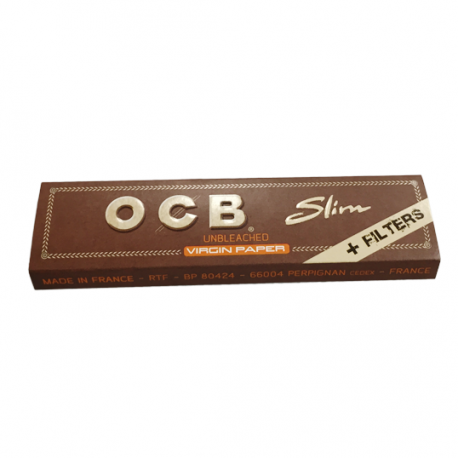 OCB Slim Brun med Filter